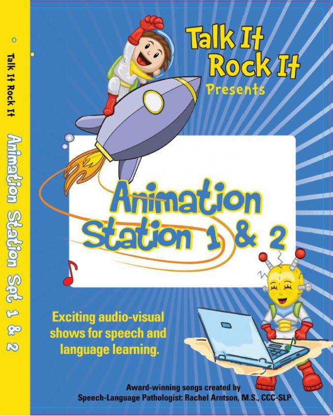 Animation Station Set Cover