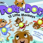 Poke a dot 10 Little Monkeys