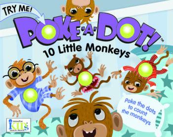 Poke a dot 10 Little Monkeys